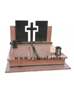 Пам'ятник з василівського та букінського граніту