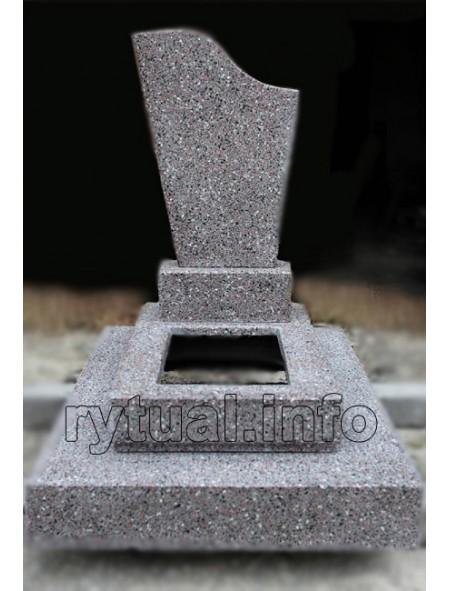 Пам'ятник з кольорової крихти