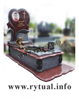 Пам'ятник з лізниківського та покостівського граніту
