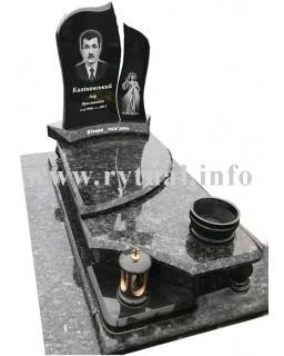 Пам'ятник з лабрадориту та букінського граніту