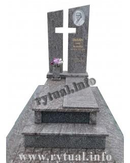 Пам'ятник з гранату та покостівського граніту