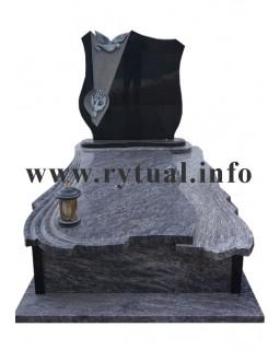 Пам'ятник з гранату та букінського граніту