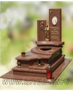 Пам'ятник з лізниківського граніту
