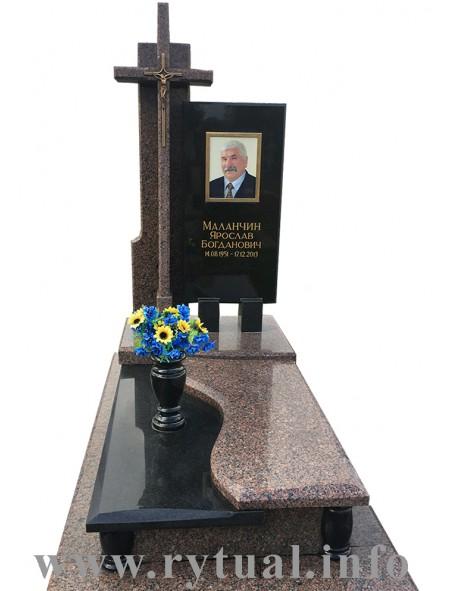 Пам'ятник з межирічки та букінського граніту