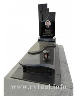 Пам'ятник з човнового та букінського граніту